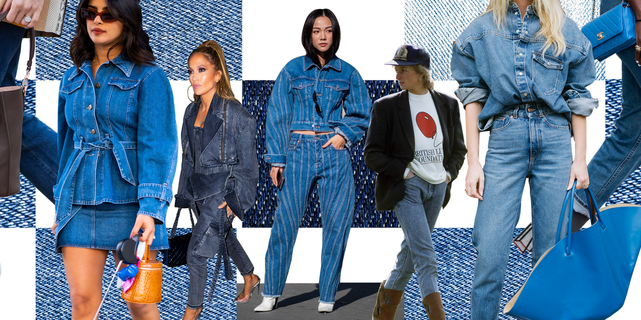 Creating Looks with the Denim Jeans
