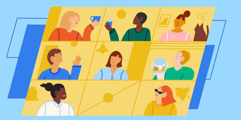 What it means remote team building activities?